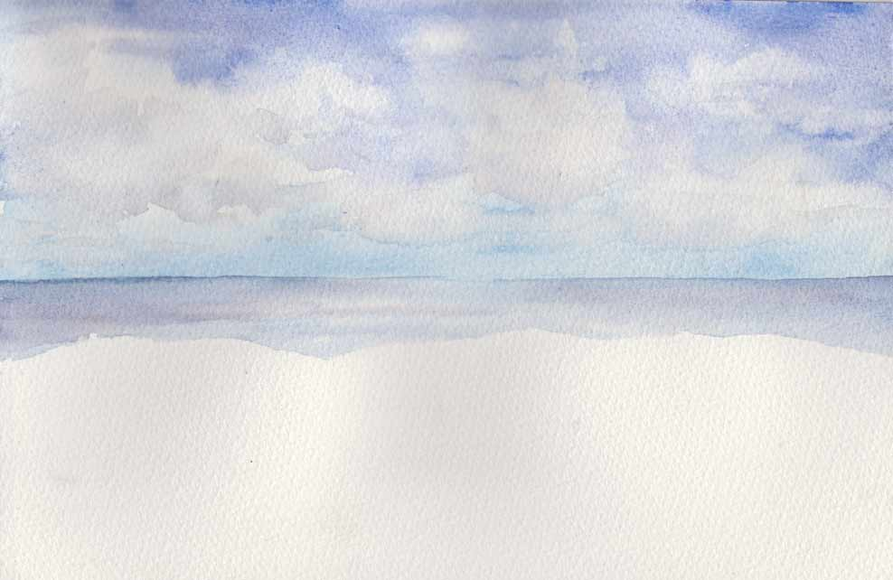 Maroubra Cliffs (Watercolour)