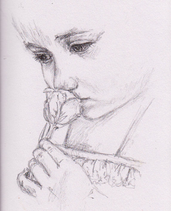 Scent of a Rose (Graphite)