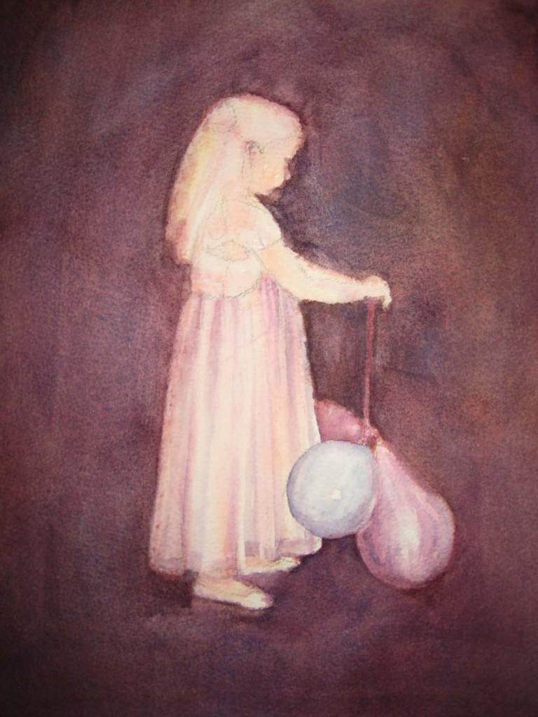Best Dress & Party Balloons (Watercolour)