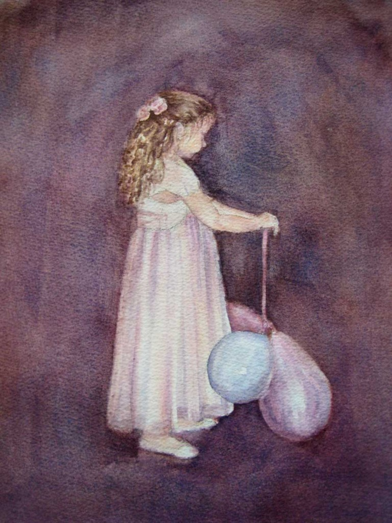 Best Dress & Party Balloons (Watercolour)