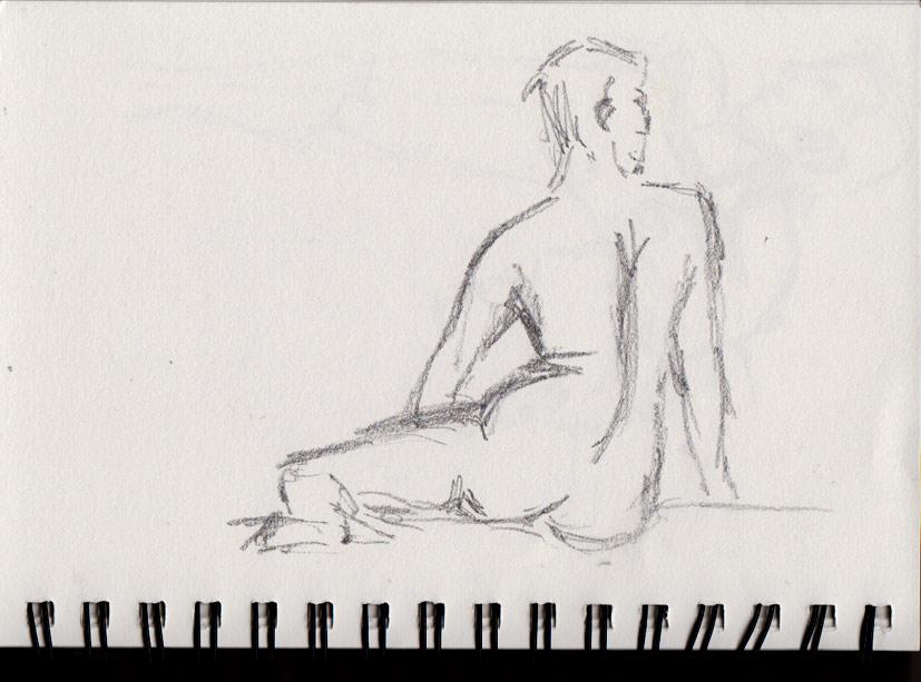 Gypsy Art Club (Graphite Sketch)