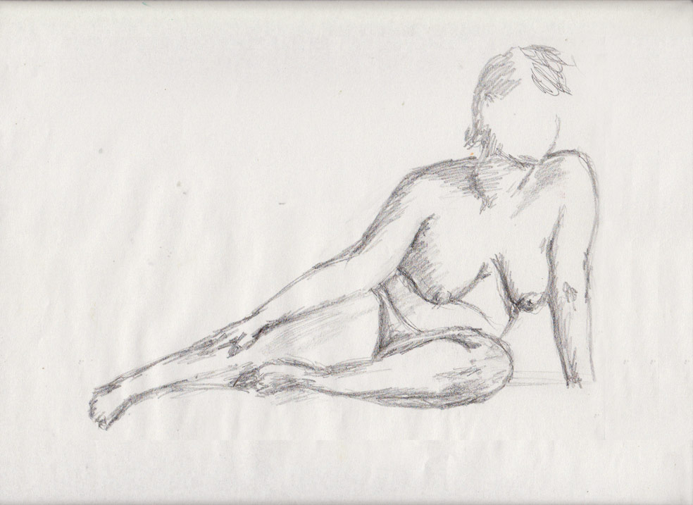 Life Drawing (graphite)