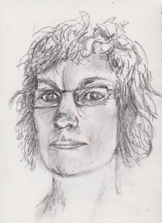 Me, Self Portrait (Graphite Pencil)