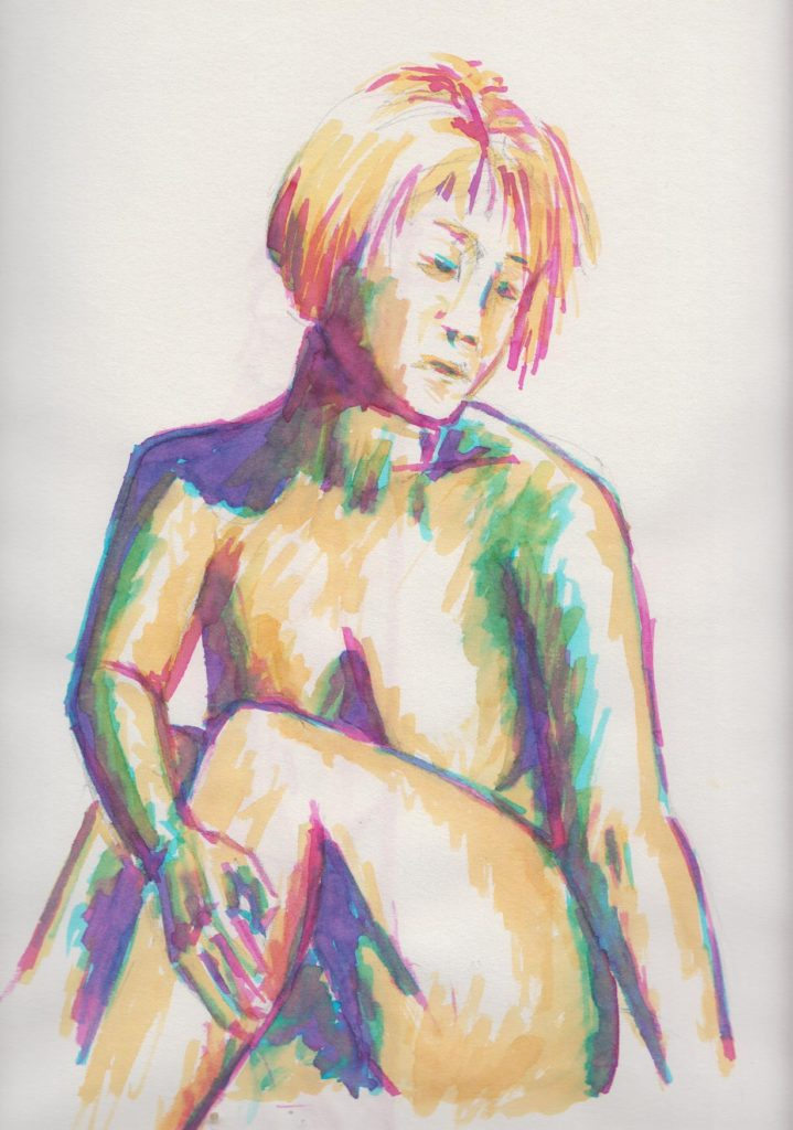 Day 6 Life Drawing