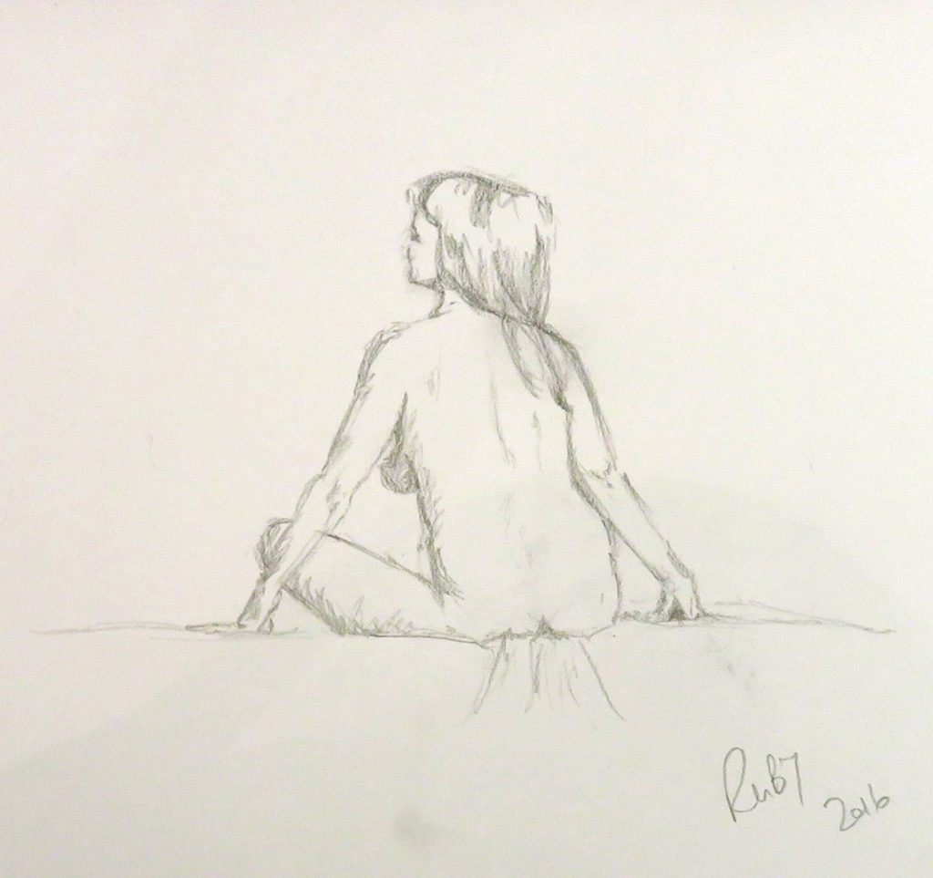 Life Drawing - Ruby (3)